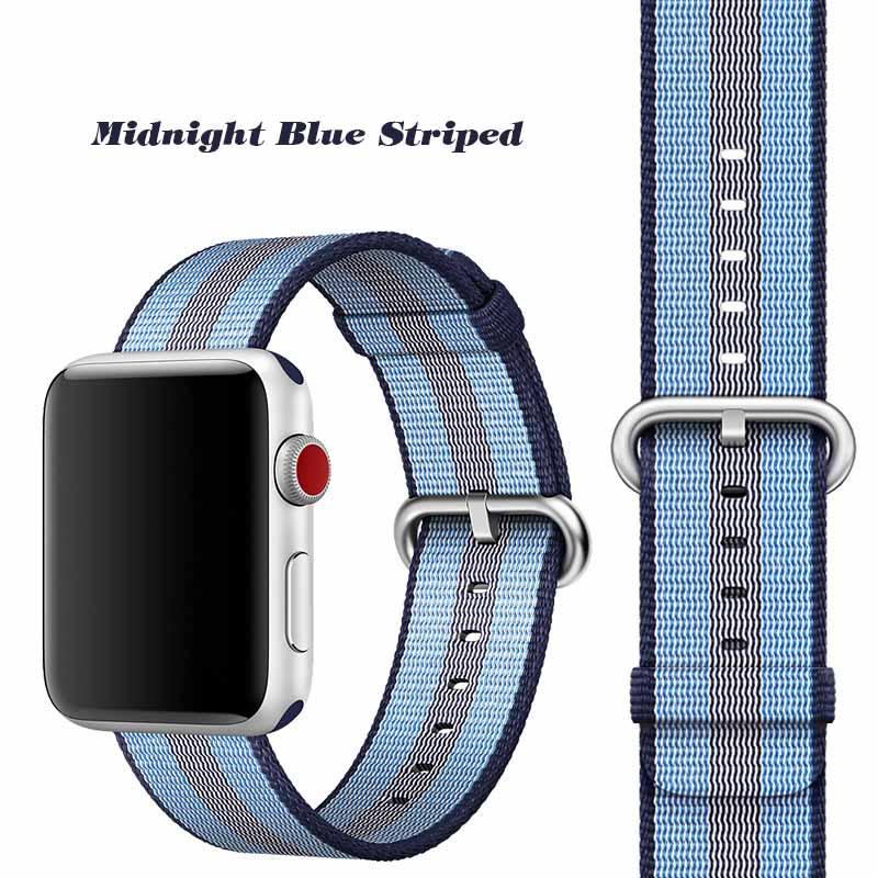 Dây Apple Watch cá tính cho nữ Woven Nylon
