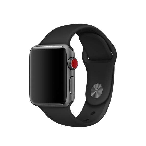 Dây apple watch sport band có Chất liệu Sillicon dẻo dai, bền bỉ trong mọi điều kiện