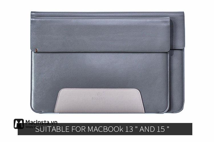 Túi da Roll Park cho Macbook